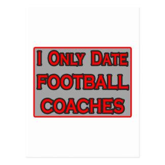 Fecho solamente a los entrenadores de fútbol postales