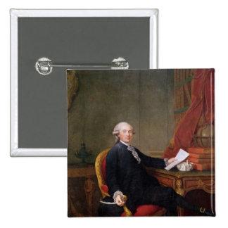 Federico-Ignace Comte de Mirbec, 1780 Chapa Cuadrada 5 Cm