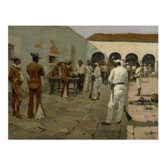 Federico Remington - la expedición de Mier Postal
