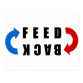 Feed-back red and blue