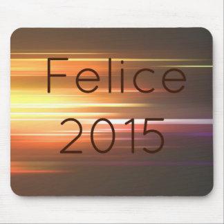 Felice 2015 alfombrilla de raton