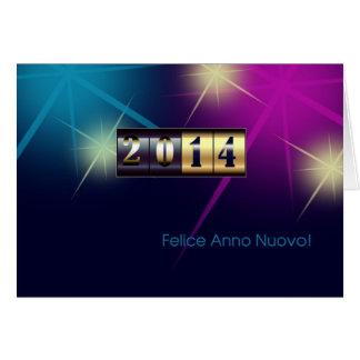 Felice Anno Nuovo 2014. Tarjetas de felicitación i