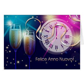 Felice Anno Nuovo. Las tarjetas italianas del Año