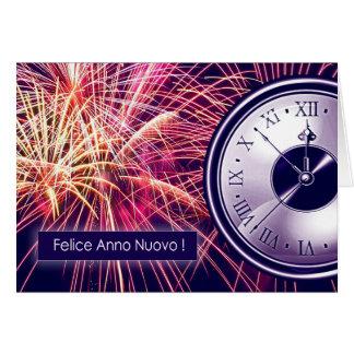 Felice Anno Nuovo. Tarjetas de felicitación