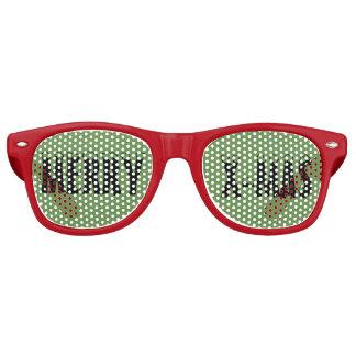 Felices gafas de sol retras adultas del fiesta de