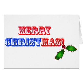 Felices Navidad #1 Tarjeta De Felicitación