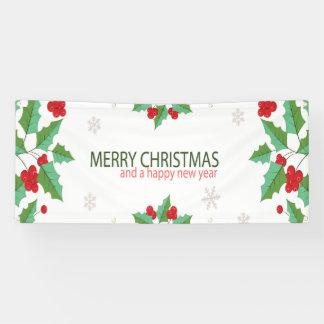 Felices Navidad 7 Lona