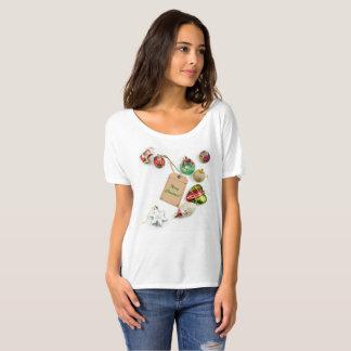 ¡Felices Navidad! Camiseta del novio de las