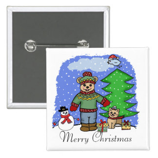 Felices Navidad Pin