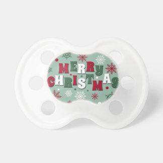 Felices Navidad Chupete