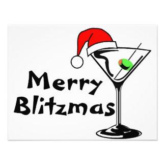 Felices Navidad de Blitzmas Invitación Personalizada