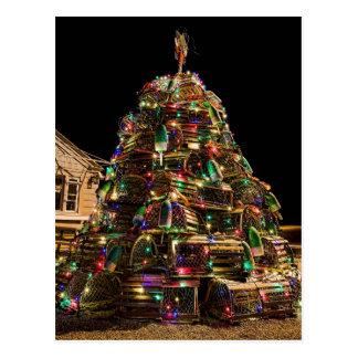 Felices Navidad de la postal de Maine