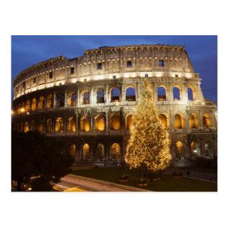 Felices Navidad de la postal de Roma
