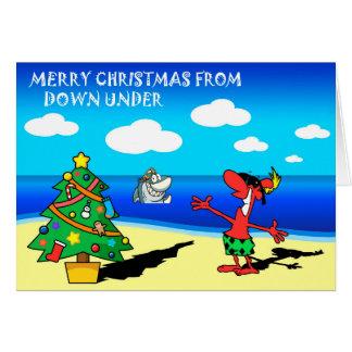 Felices Navidad de la tarjeta de felicitación de