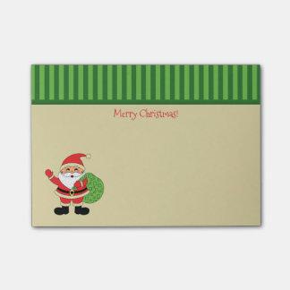 Felices Navidad de Papá Noel Notas Post-it®