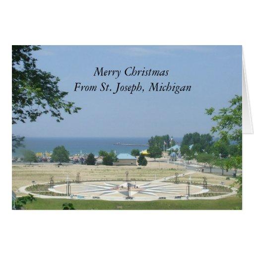 Felices Navidad de San José, Michigan Felicitación