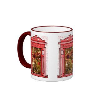 Felices Navidad, decoración brillante Taza