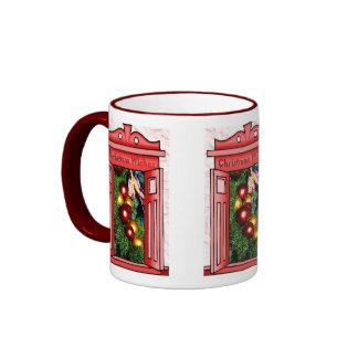 Felices Navidad, decoración brillante Tazas