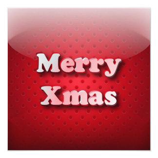 Felices Navidad del icono de la invitación