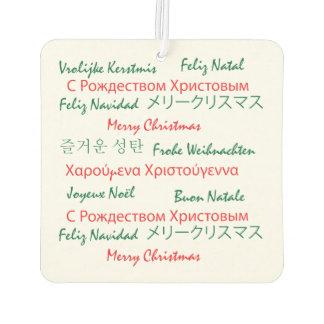 Felices Navidad en muchas idiomas