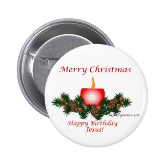 ¡Felices Navidad feliz cumpleaños Jesús Pin