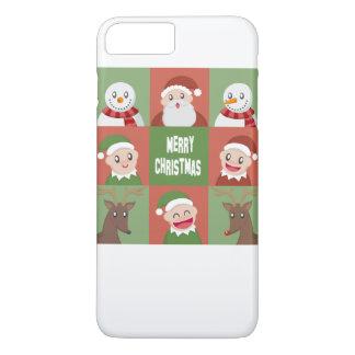 Felices Navidad Funda iPhone 7 Plus