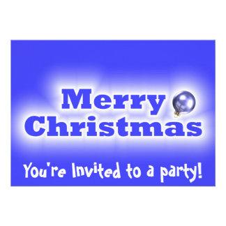 Felices Navidad heladas - azul Comunicados