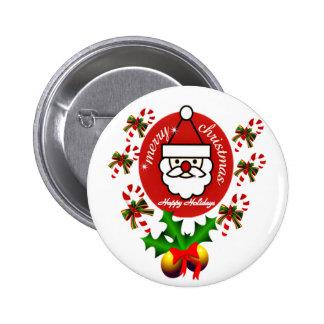 Felices Navidad, Holidays_Button feliz Pins