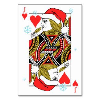 Felices Navidad Jack de corazones