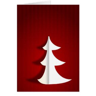 Felices Navidad modernas Felicitacion