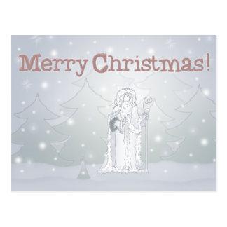 Felices Navidad - navidad del padre - postal