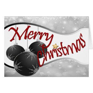 Felices Navidad Notecard Tarjeta Pequeña