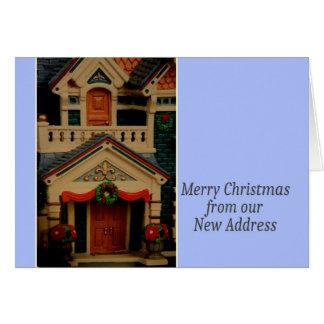 Felices Navidad - nueva tarjeta de Navidad de la