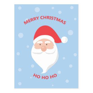 Felices Navidad Papá Noel Postal