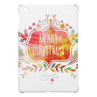 Felices Navidad retras de la acuarela