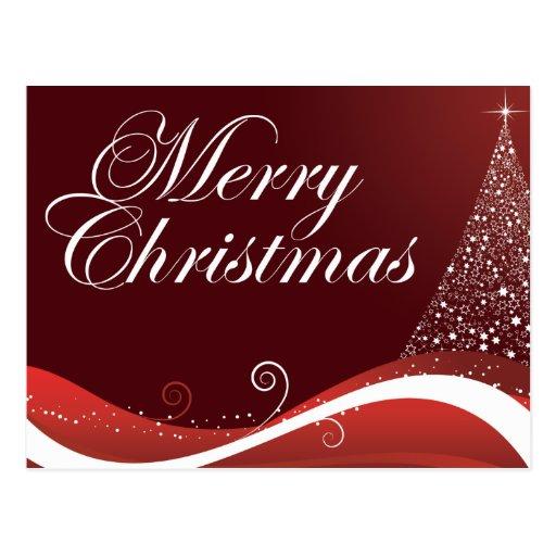 Felices Navidad rojas