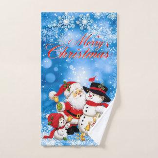 Felices Navidad Santa y amigos