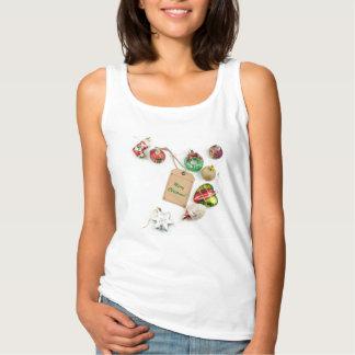 ¡Felices Navidad! Tank-top. Camiseta Con Tirantes
