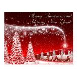 Felices Navidad y Feliz Año Nuevo Tarjetas Postales