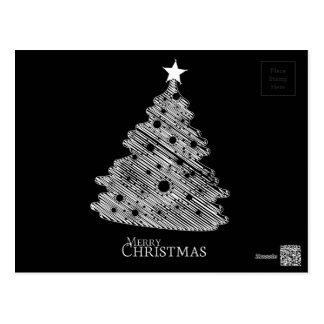Felices Navidad y newyear feliz Postal