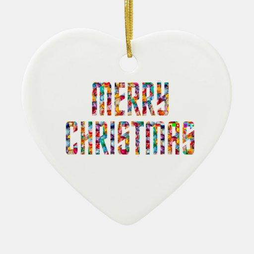 Felices Navidad y una FELIZ AÑO NUEVO 2014 Ornamento De Navidad