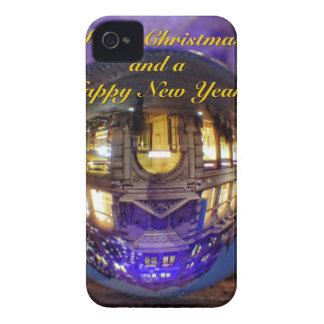 Felices Navidad y una Feliz Año Nuevo Carcasa Para iPhone 4