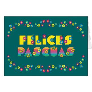Felices Pascuas Tarjeta De Felicitación