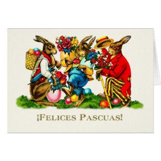 Felices Pascuas. Tarjetas de pascua felices