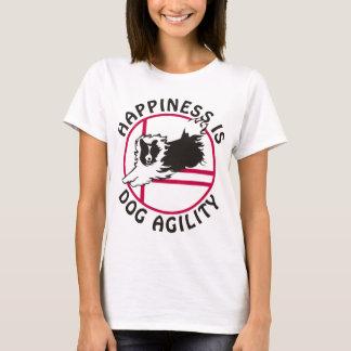 Felicidad de la agilidad de Sheltie Camiseta