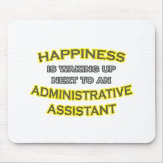 Felicidad El despertar Asst administrativo Tapetes De Ratón