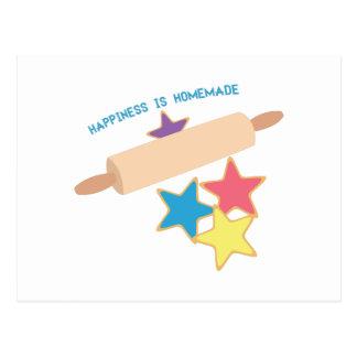 Felicidad hecha en casa postal