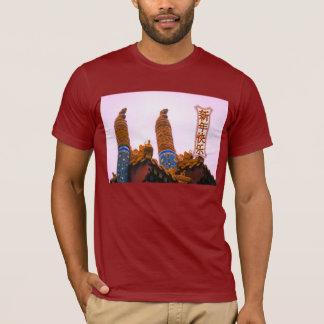 Felicidad y prosperidad - decoración del templo camiseta