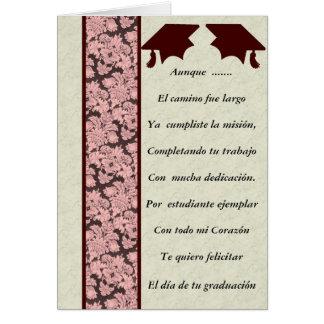 Felicitacion de Graduacion