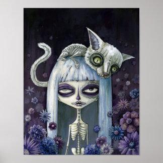 Felina de los muertos póster